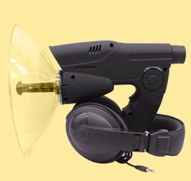 Multifunctional telescopic listen bird instrument